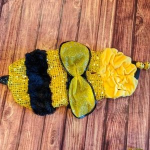Bee dog costume, sz L